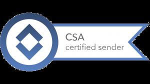 martrexo ist zertifiziertes Mitglied der Certified Sender Alliance